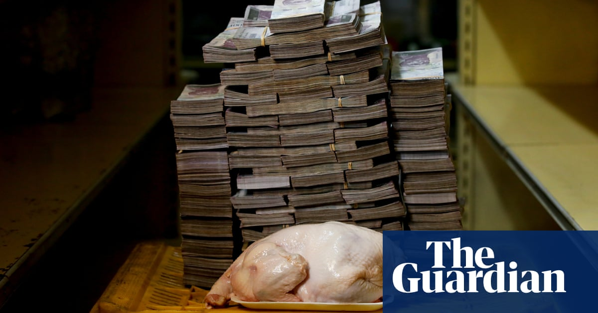 14m bolivars for a chicken: Venezuela hyperinflation ...