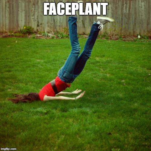 faceplant - Imgflip