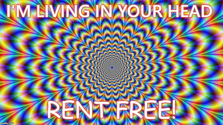 Rent Free - Imgflip