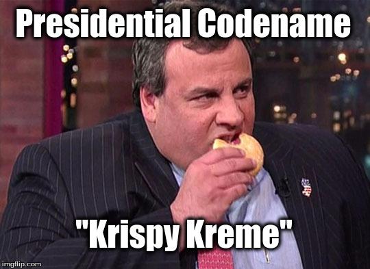 "Presidential Codename ""Krispy Kreme"" | image tagged in ..."
