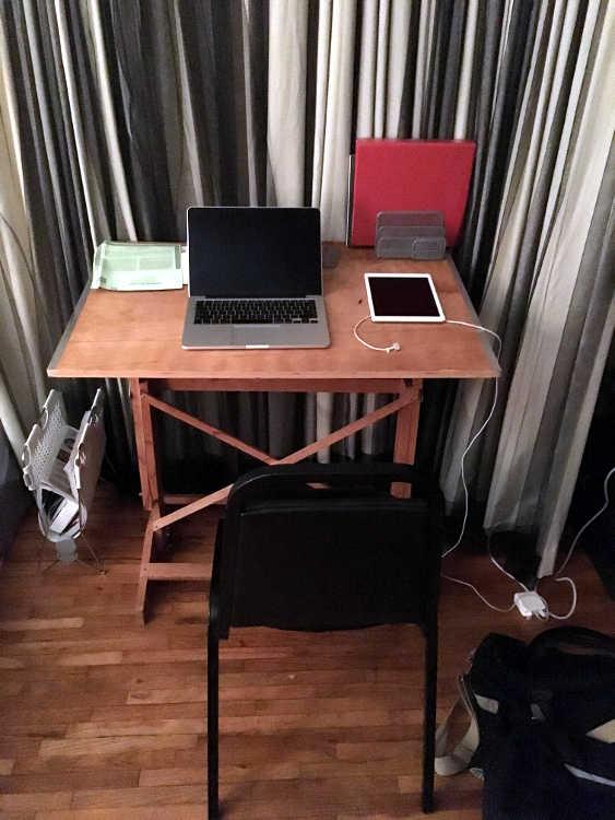 Blake's desk