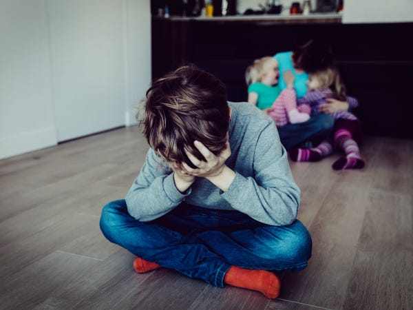 Children of narcissistic parents are either a favourite or ...