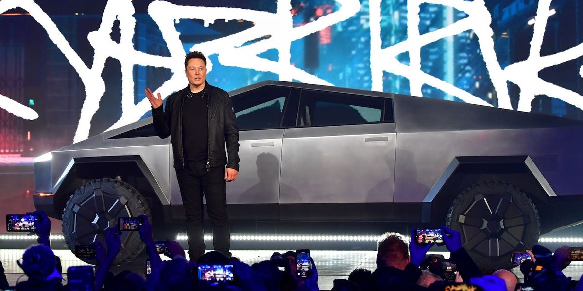 Elon Musk says Tesla is scouting locations for a Cybertruck factory in the 'central USA'…