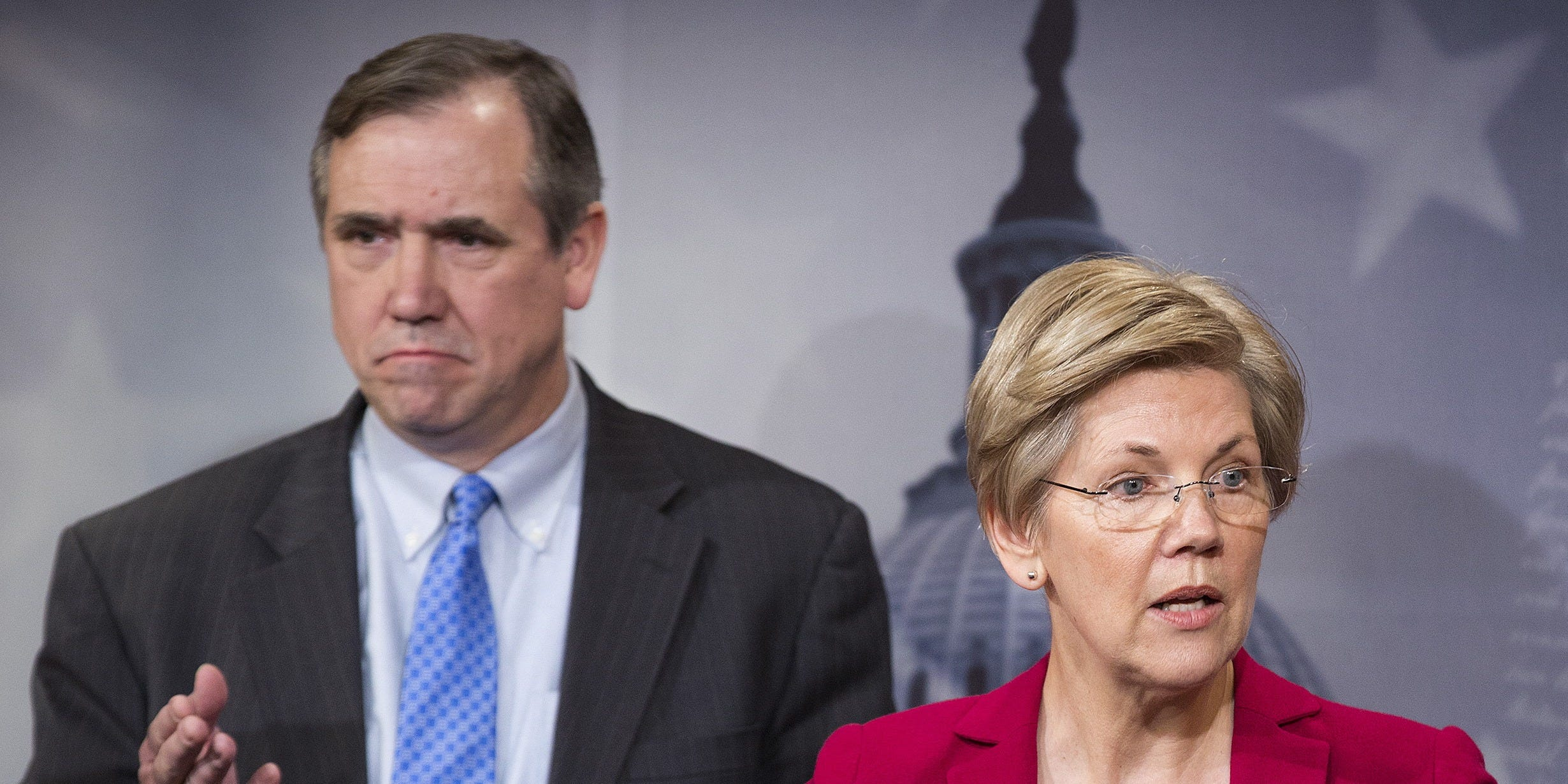 Sens. Elizabeth Warren and Jeff Merkley propose creating a national database of cops with a record of misconduct…