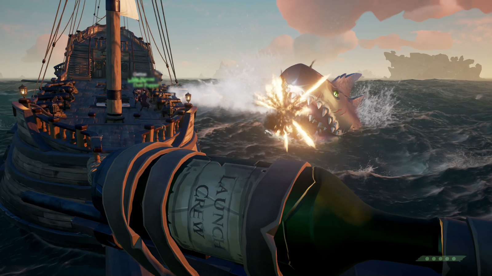 New Shark Hunt Finally Gets Sea Of Thieves Players To Cooperate