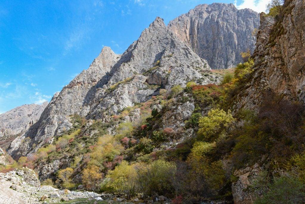 Near the Baishiya cave in Tibet