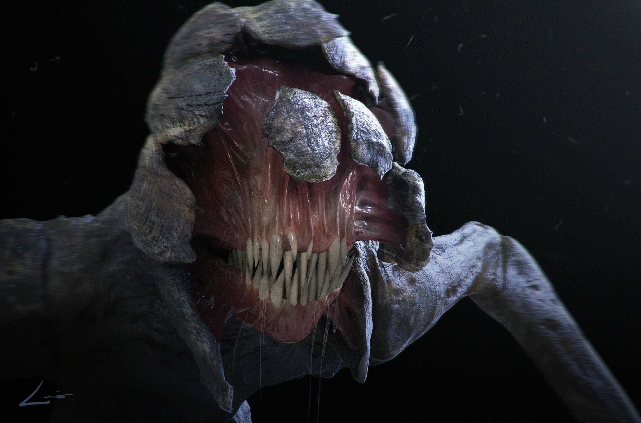You Can Finally See The Gruesome Monsters From A Quiet ...