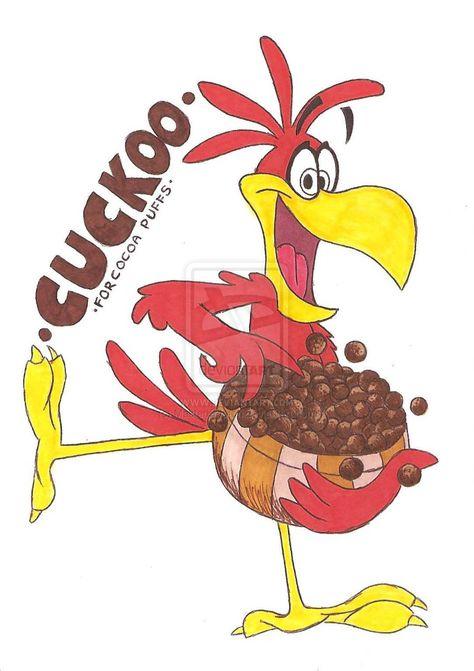 Sonny the Cuckoo Bird | Cocoa puffs, Cuckoo