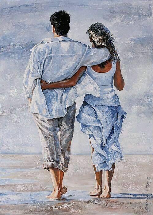 Nos vies sont faites de tout | Toile d'amour, Dessin ...