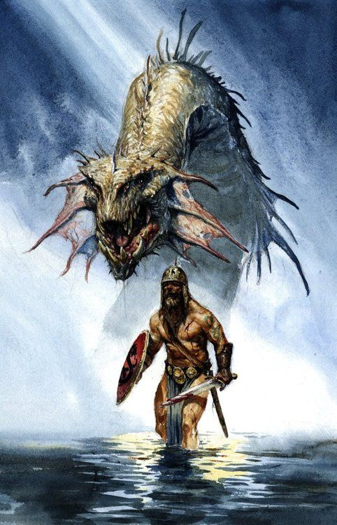 66 best The Story of Beowulf. images on Pinterest ...