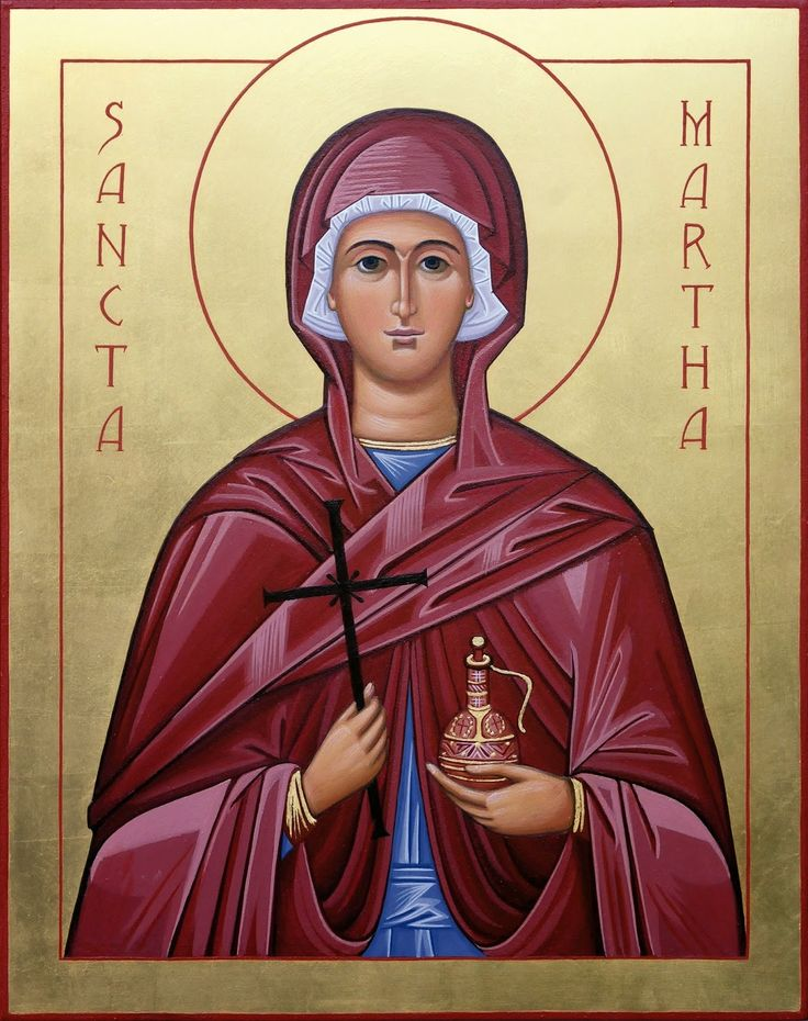 11 best Heilige Martha / Icons images on Pinterest | Catholic saints, Religious icons and Saint ...
