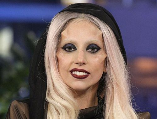Gaga's subdermal implants   Lady gaga illuminati, Illuminati celebrities, Illuminati