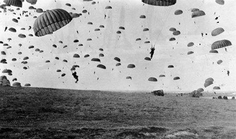 1944-09-17 Landing van Amerikaanse parachutisten ter ...