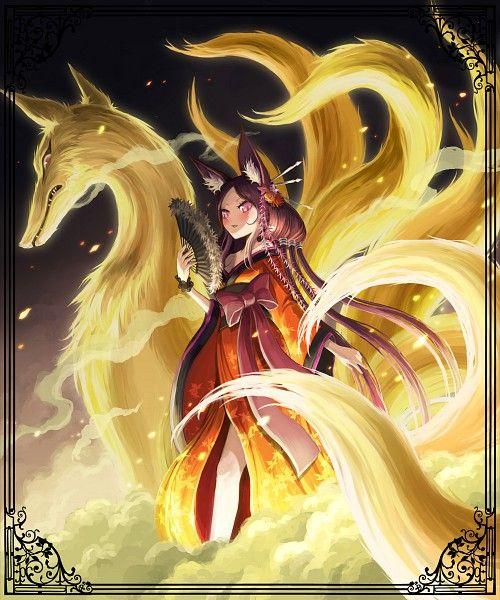 64 best Kitsune images on Pinterest | Character design ...