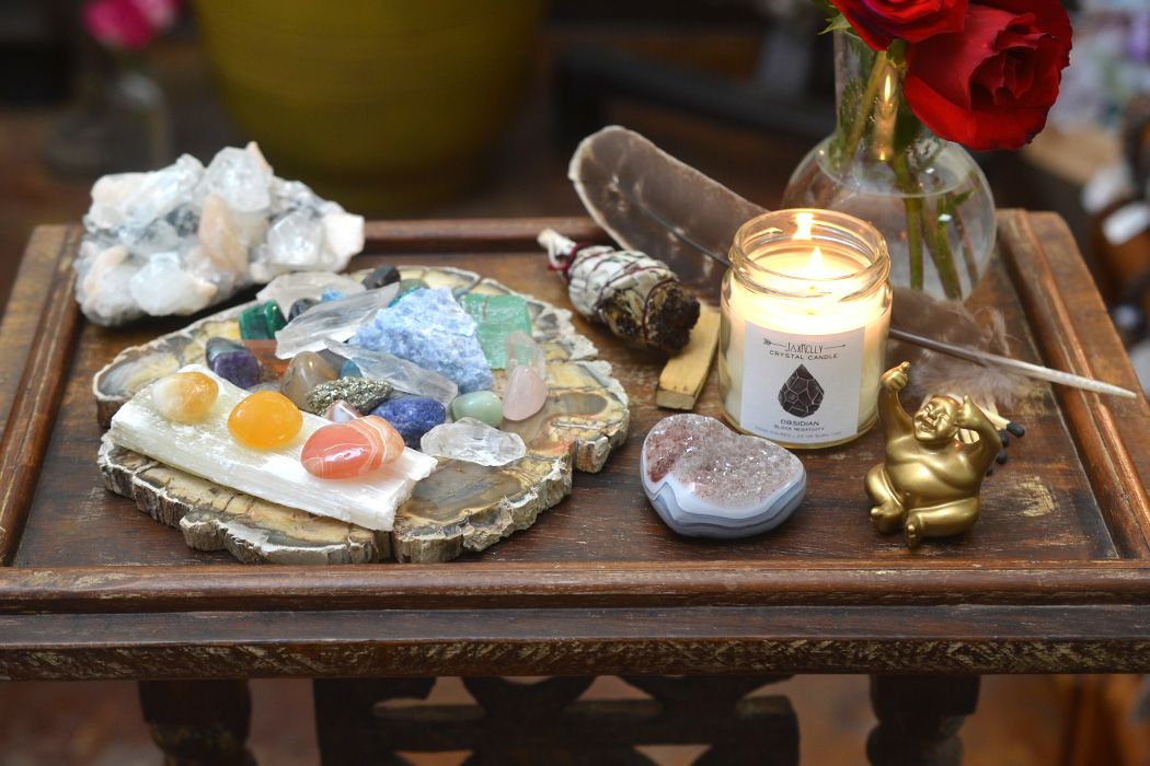 Create a Crystal Altar to Hold the Space for Your ...