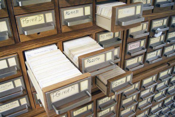 Library of Congress Card Catalog | Card catalog, Library ...