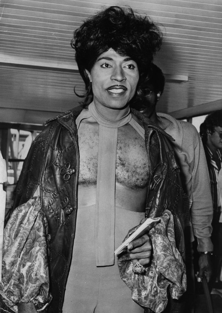 Little Richard Style Evolution - 12 / 1972 | 1957 & 1970's ...