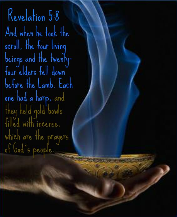Revelation 5:8 And when he took the scroll, the four ...