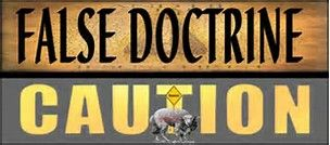 Caution against false doctrine being taught instead of the ...