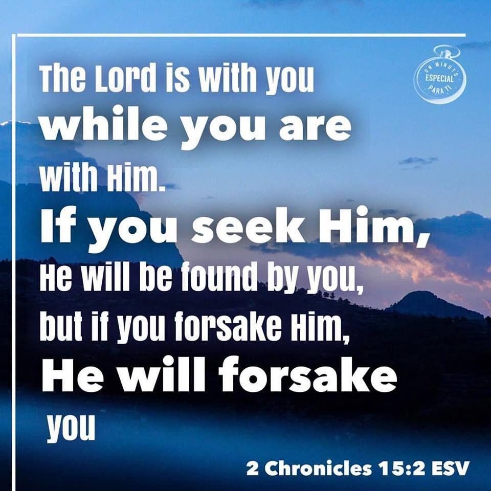 2 Chronicles 15:2 | Desktop screenshot, Desktop, Daily quotes