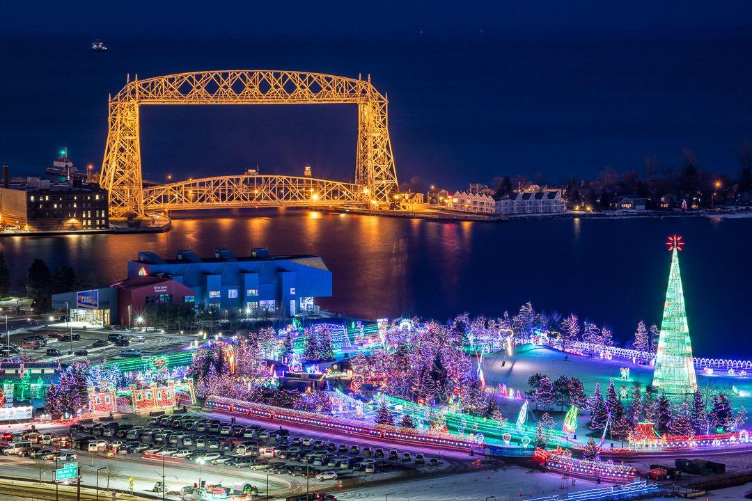 Bentleyville Christmas lights Duluth Minnesota | MINNESOTA ...