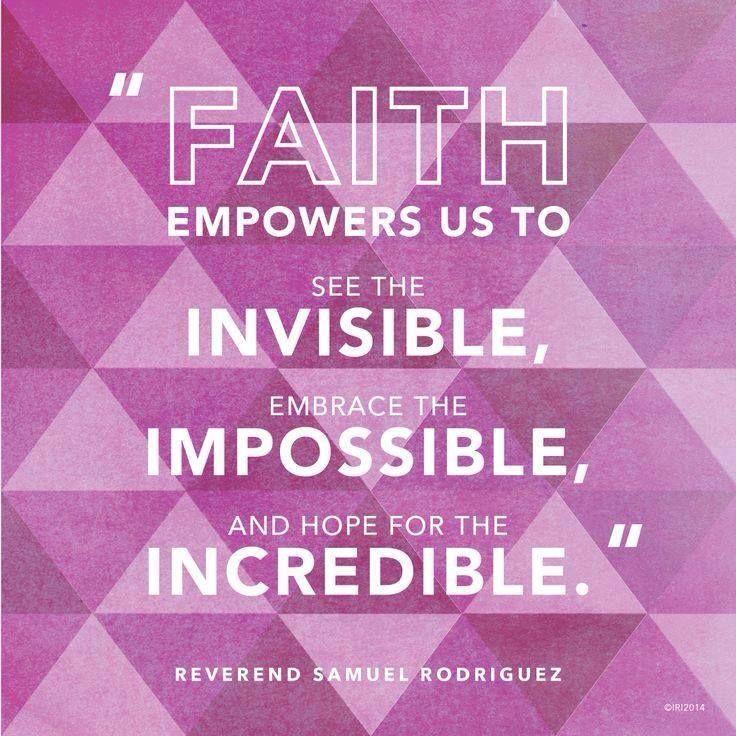 Faith empowers us... | Inspirational words of wisdom ...