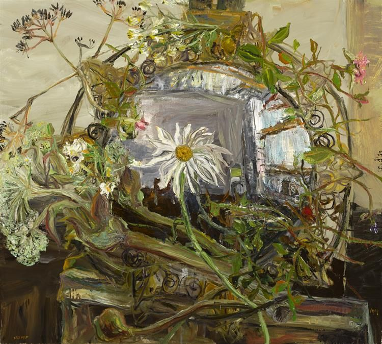 Nick Miller (b.1962) FLOWER WITH ARNOLFINI REFLECTION ...