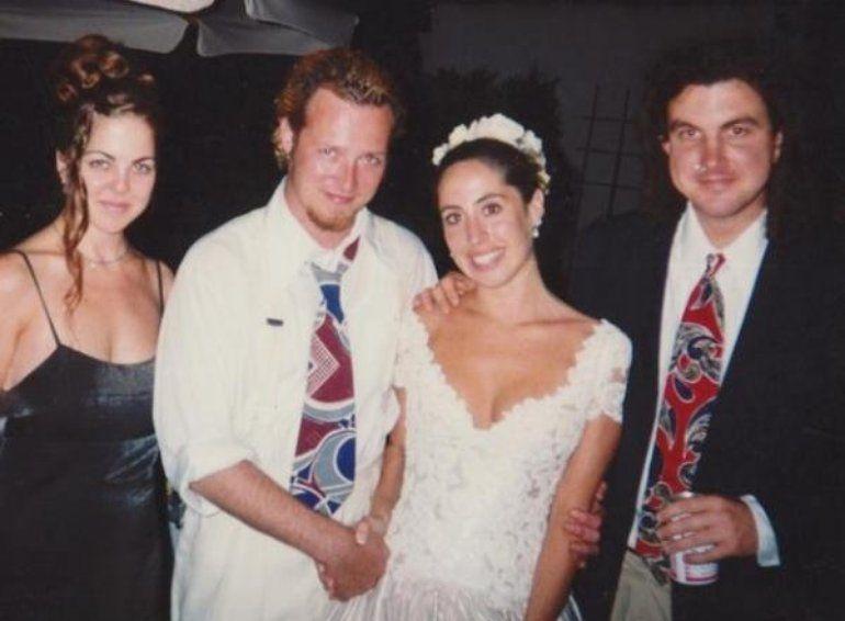 With first wife | Scott weiland, Scott, Rock legends