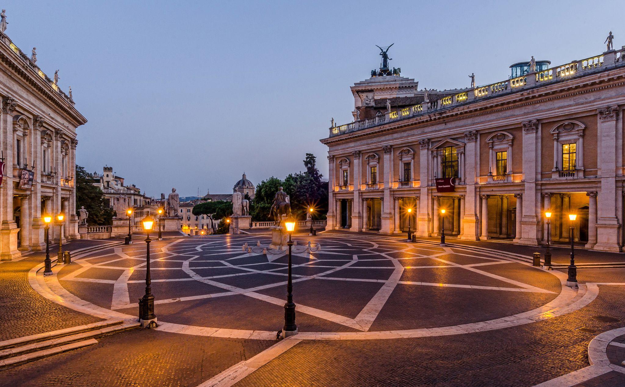 Piazza del Campidoglio - Rome | Rome, Architecture ...