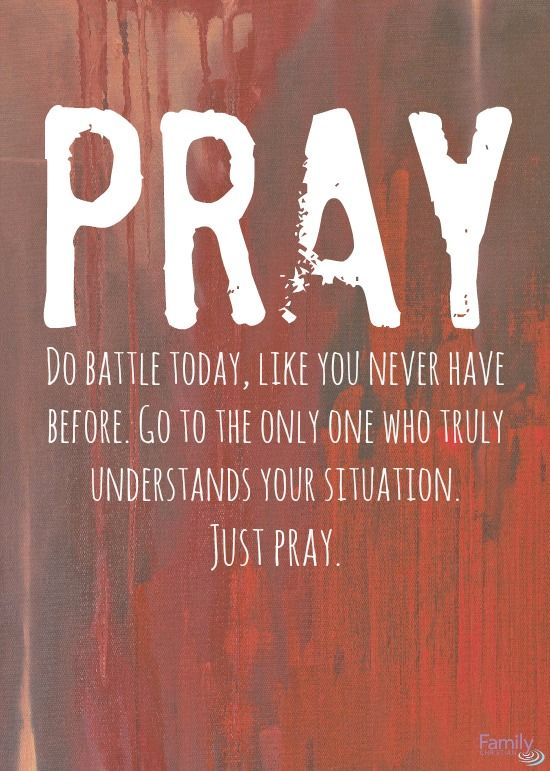 Don't worry about anything; instead, pray about everything ...