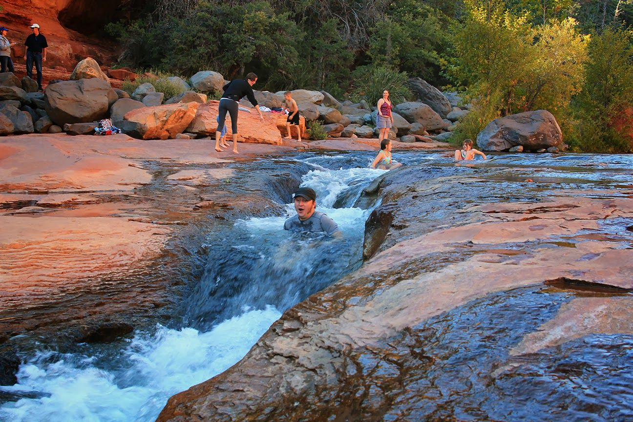 Slide Rock State Park in Arizona | Oak creek canyon, Places to go ...