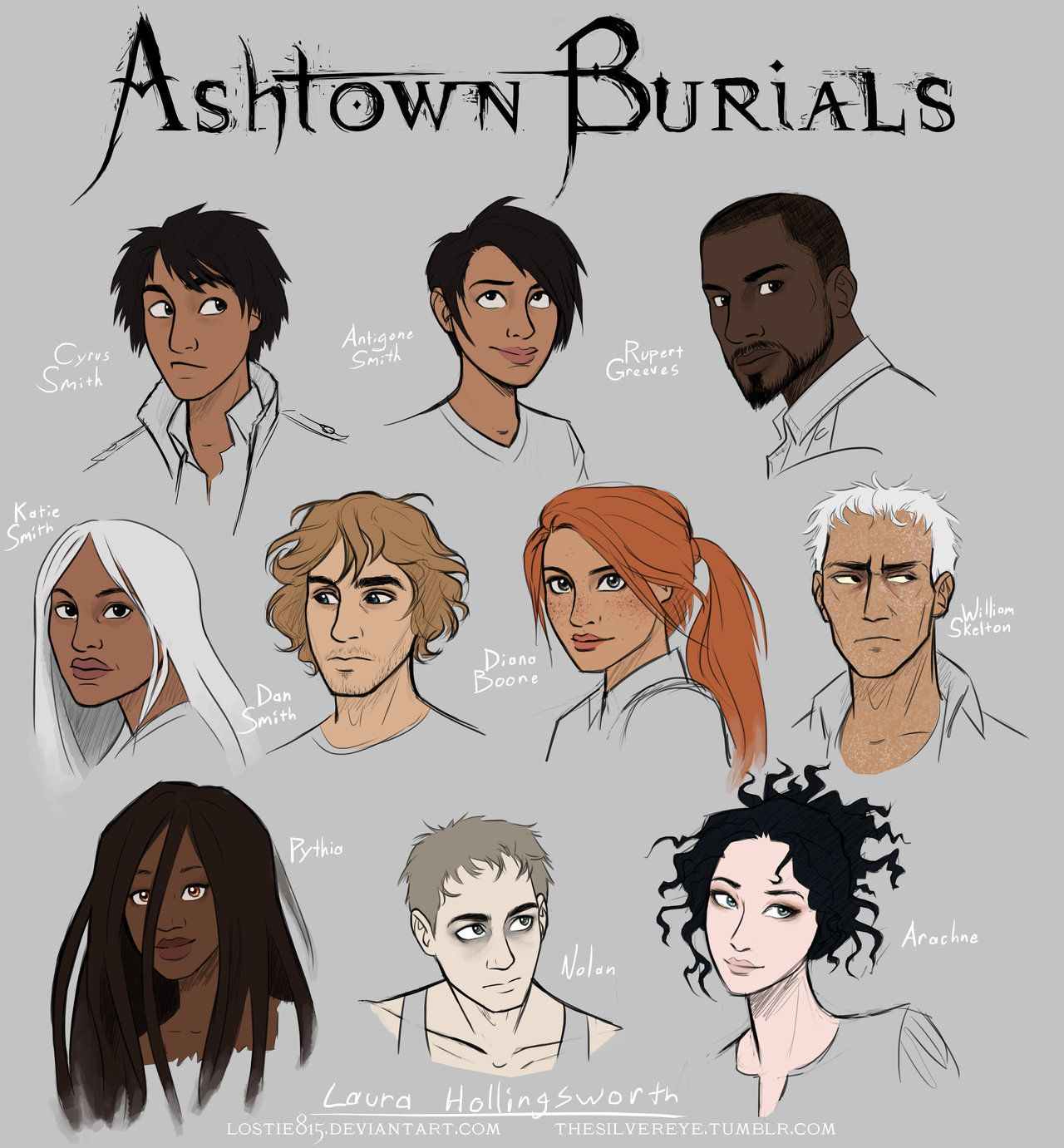 Ashtown Burials Characters Colored by lostie815.deviantart ...