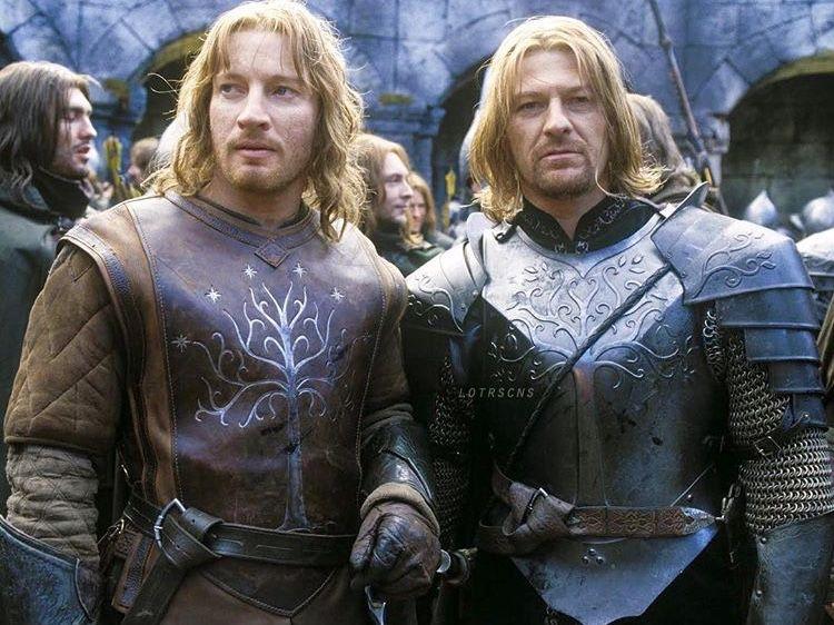 Faramir & Boromir | Lord of the rings, The hobbit, Lotr