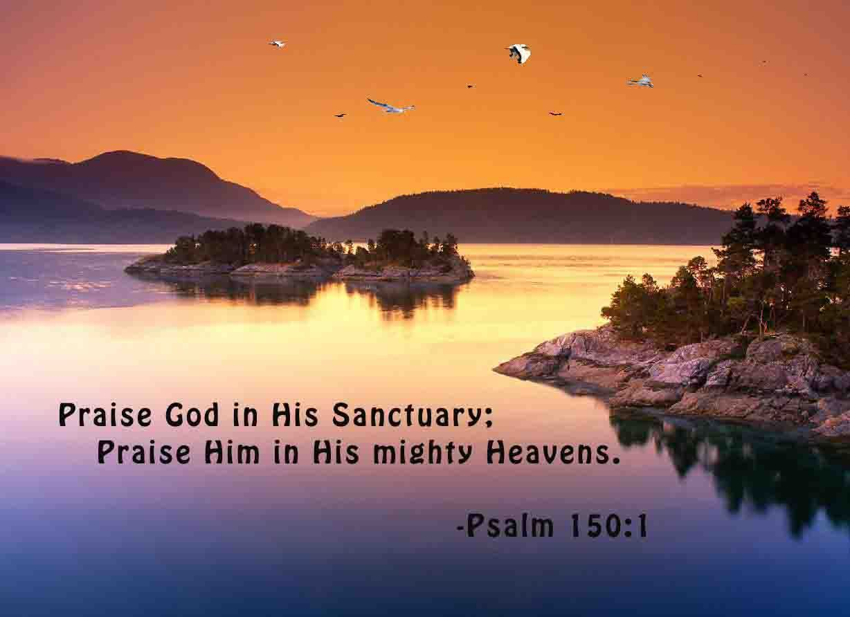 Psalm 150:1 (With images) | Psalm 150, Spiritual wisdom ...