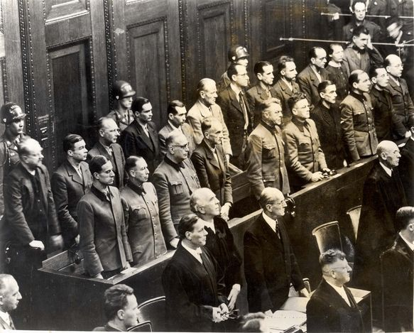 Nuernberg, Germany, 1946, Defendants at the Doctors Trial ...