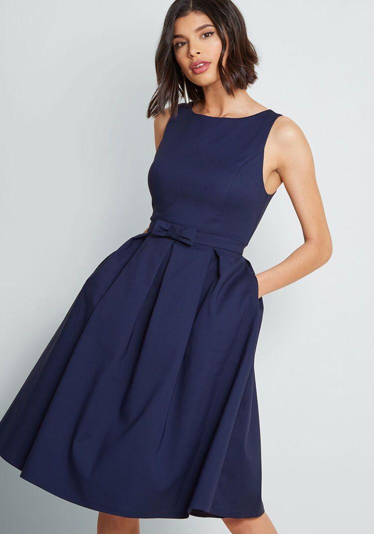 Polish Aplenty Fit and Flare Dress | Mod cloth dresses ...