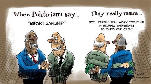 Funny Bipartisan Political Cartoon Cartoon | Funny ...