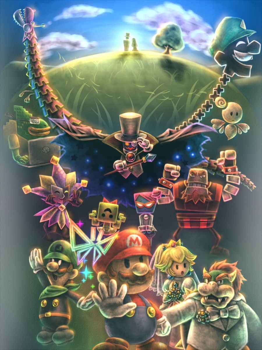 Yuga's Gallery of Nintendo Art (currently featuring: the Paper Mario series) - Page 3 ?u=https%3A%2F%2Fi.pinimg.com%2Foriginals%2F66%2F89%2F57%2F668957c7b9d27abcbe4ac1477f2ba2a6