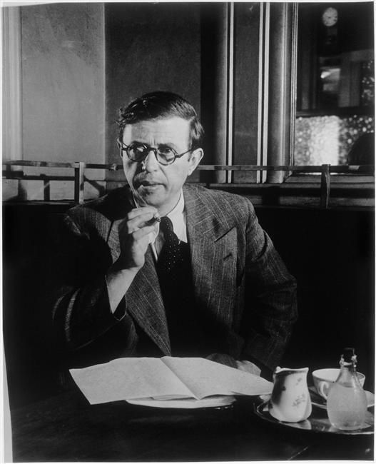 Jean-Paul Sartre | Pariser café, Katzen, Berühmtheiten