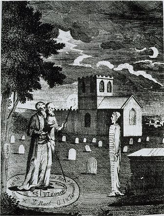 John Dee and Edward Kelly Summoning the Dead, 19th Century . . . — Buy this… | The magicians ...
