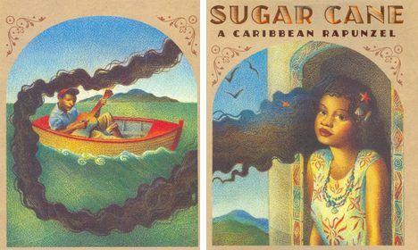 Patricia Storace's Sugar Cane: A Caribbean Rapunzel, black girl in ...   Rapunzel, Rapunzel ...