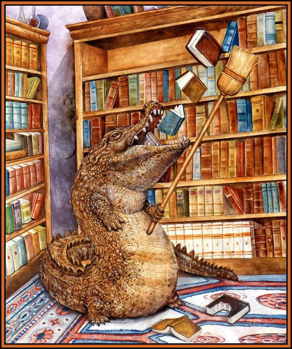 Devouring books...... by Wallace Edwards (avec images ...