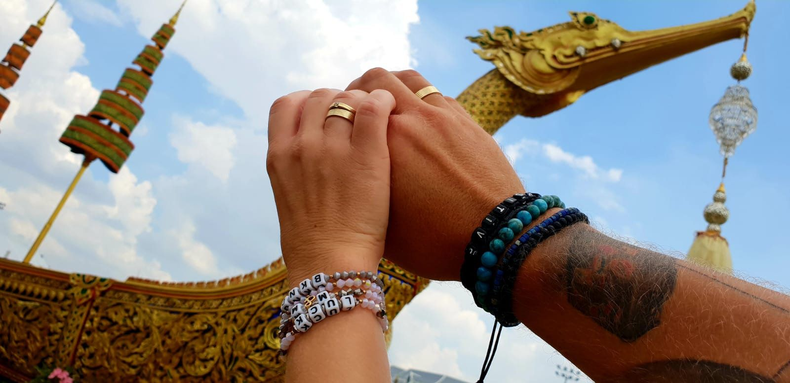 Bracelets for couples, date bracelet for couples, couple bracelets set, gift for couple, custom ...