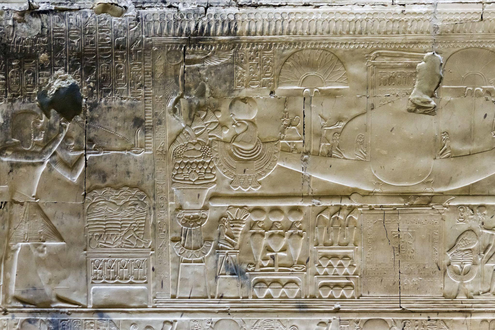 Temple of Seti I Abydos   Seti i, Egypt, Horus