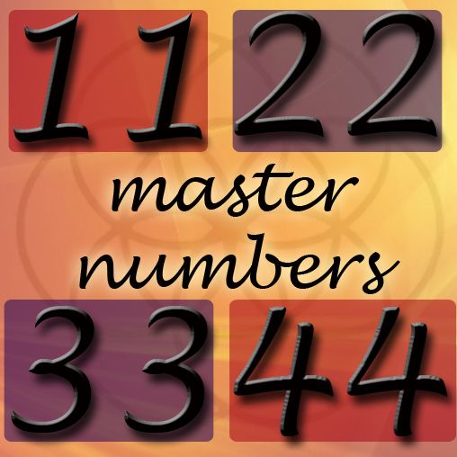 Master numbers are often over looked for their importance ...