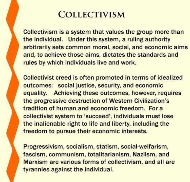 Pin by Brian O'Neil on History | Collectivism, Individuality quotes, Individuality