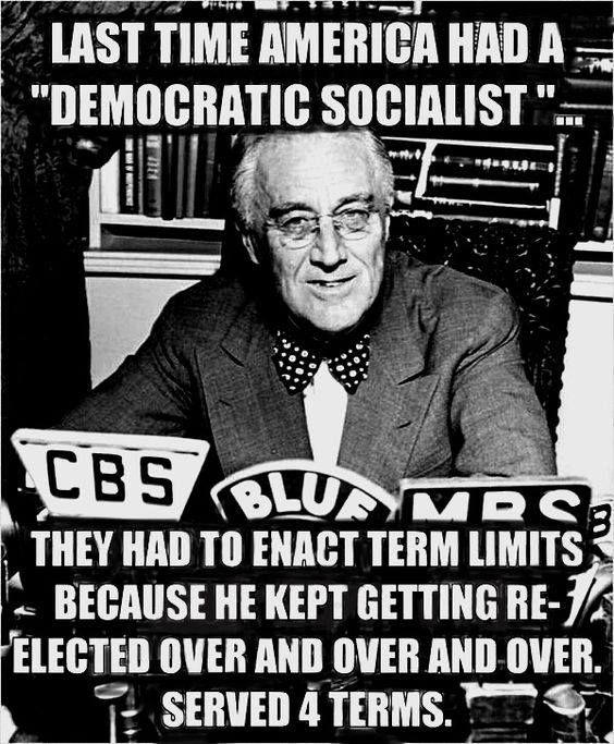 Democratic Socialist FDR served 4 terms! | Socialism, Politics, Political views