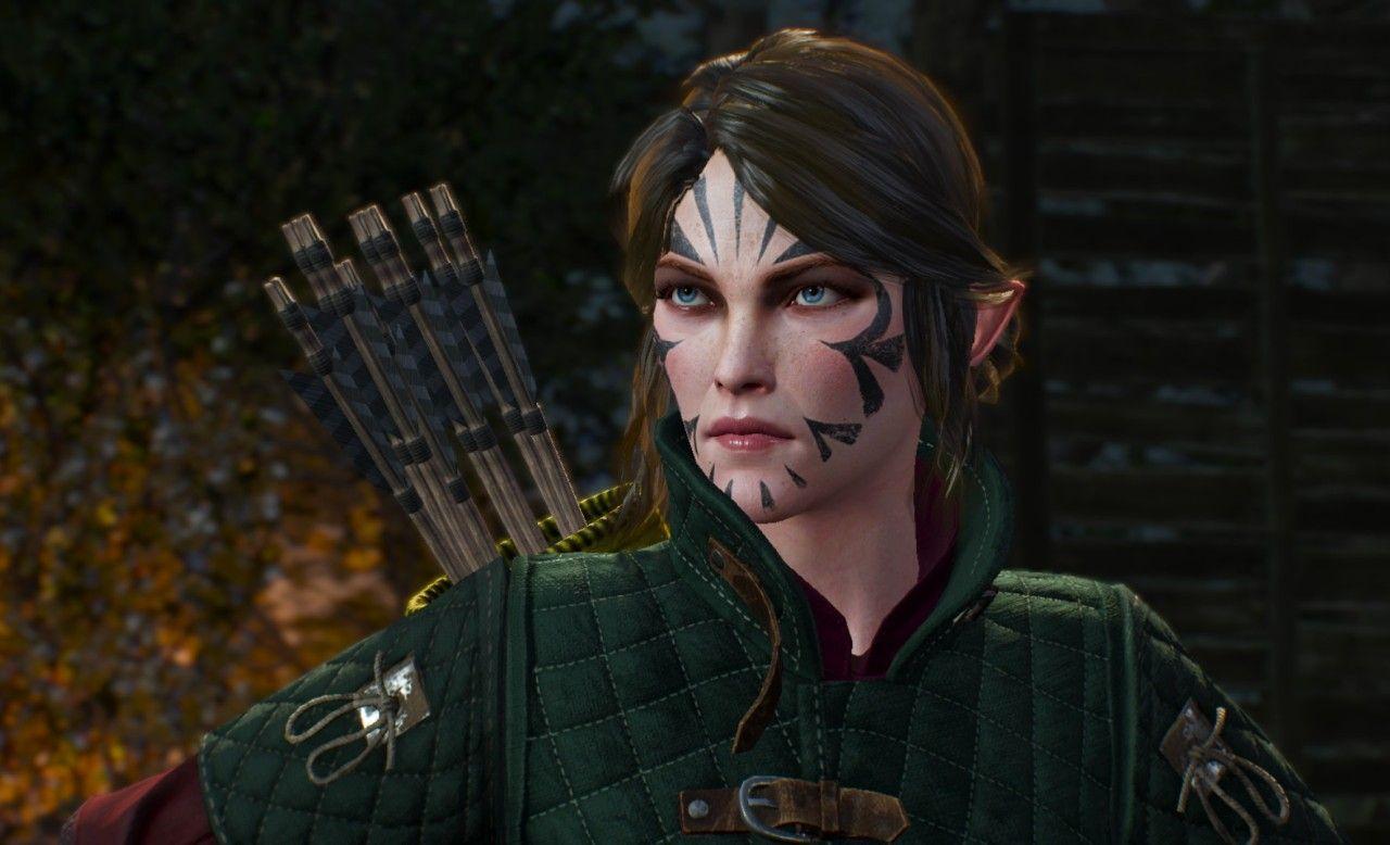 Vernossiel in 2019 | Elf characters, The witcher, Character