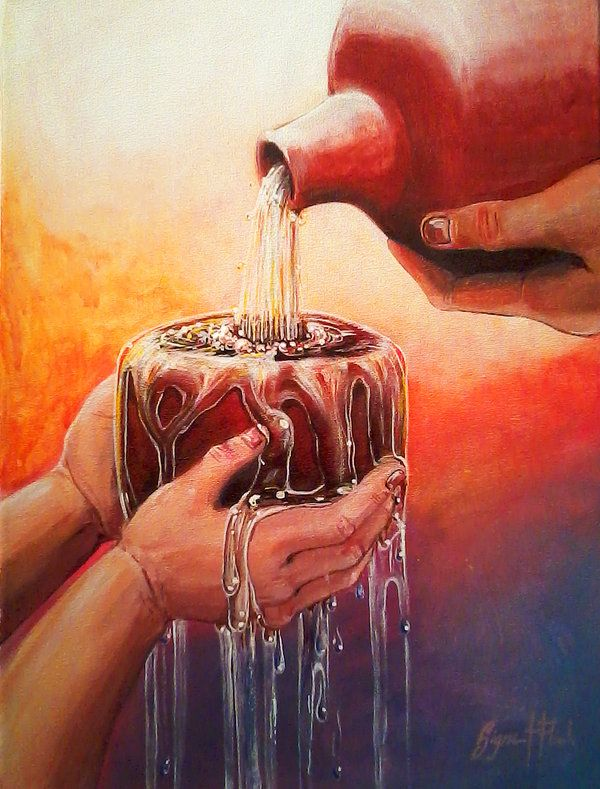 You anoint my head with oil; my cup overflows. Surely your goodness and love will follow me all ...