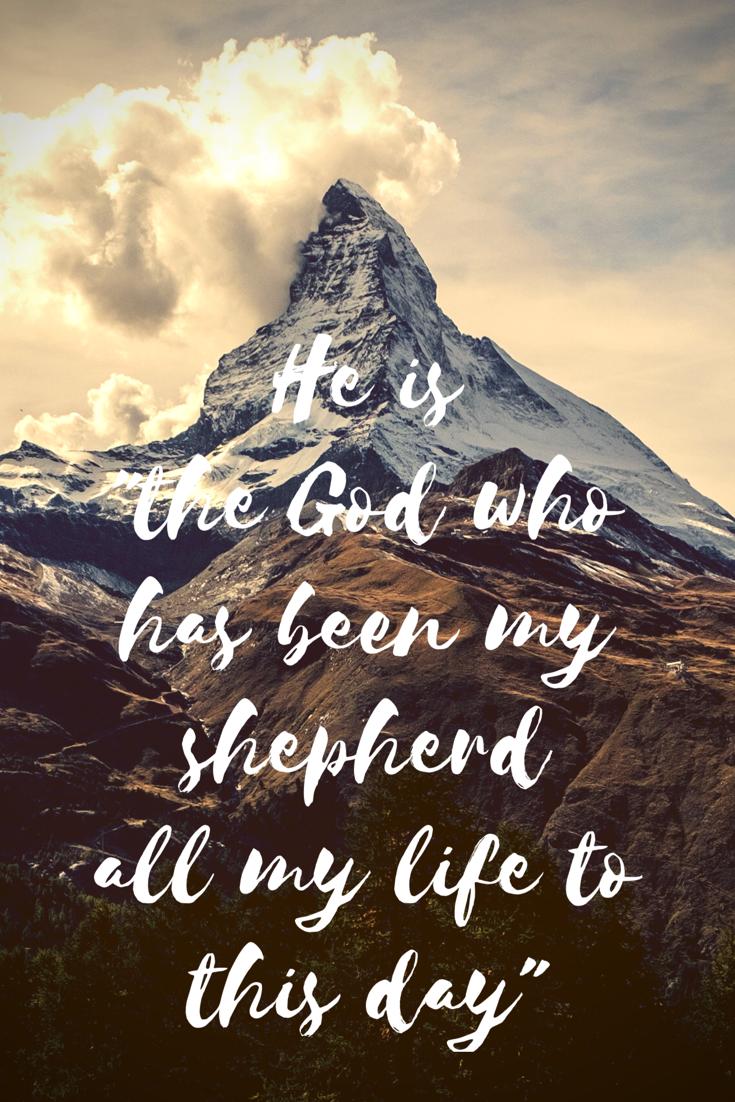 Genesis 48:15 | Genesis 48, Genesis, Life